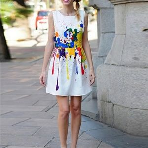 🔥Color Incense Pleated Wearable Art Dress